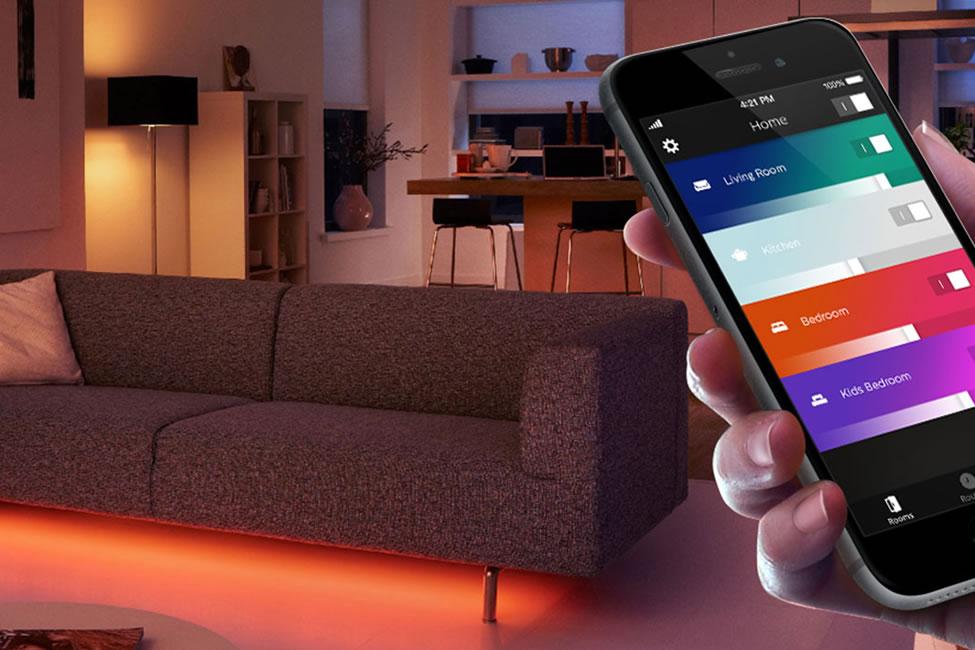 Draadloze verlichting - bedienbaar via SmartPhone