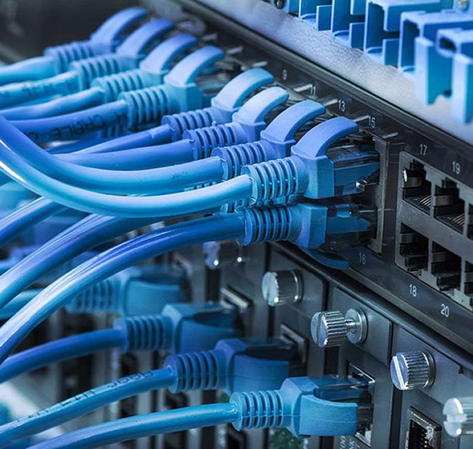 Bekabeld netwerk